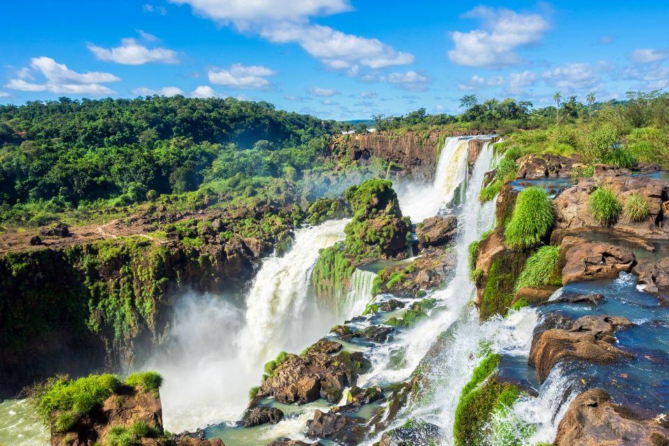 Amérique, sud, paraguay, cascade, chute d'eau, foret, iguaçu