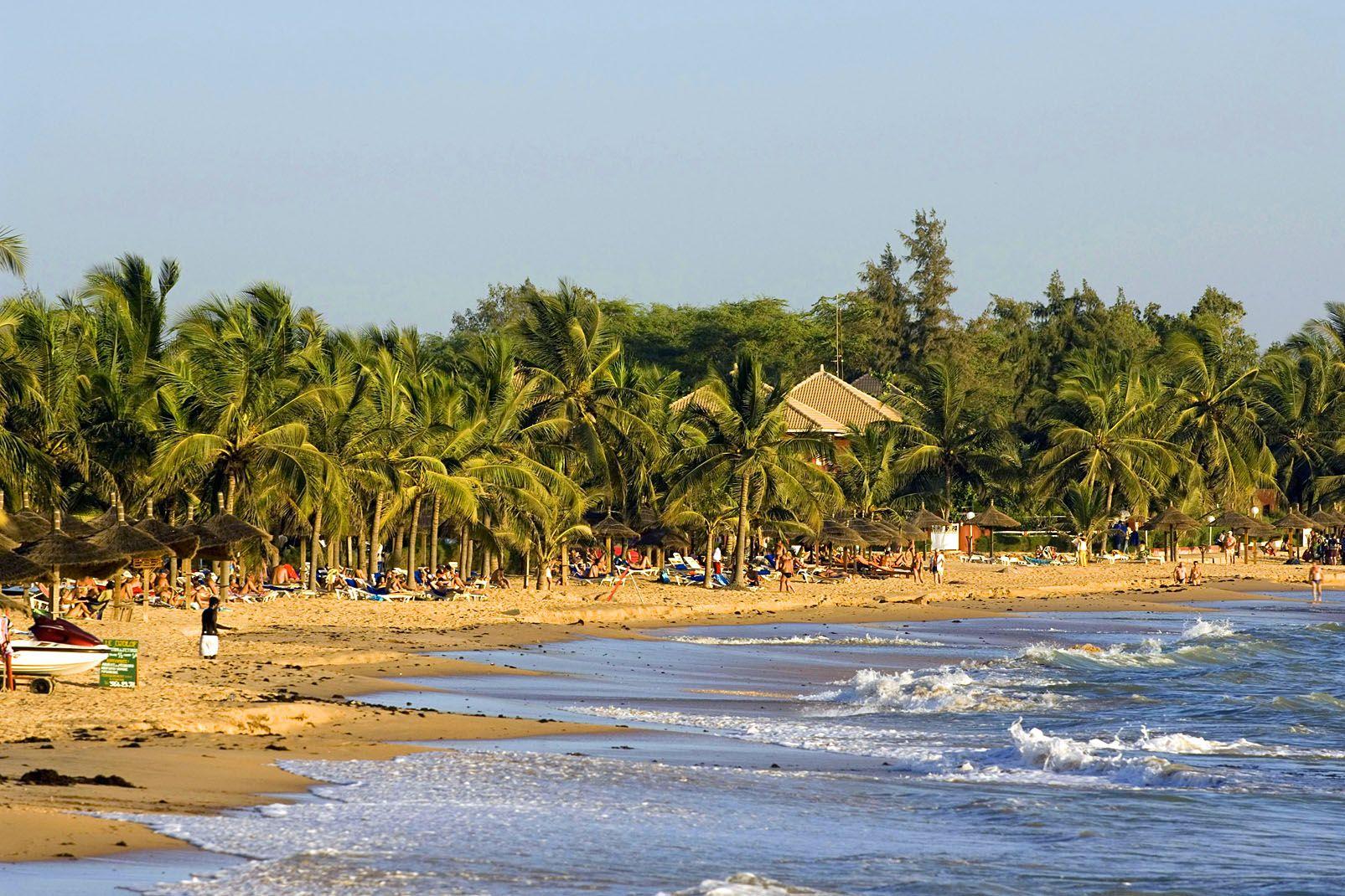 afrique, senegal, saly, côte, plage, sable, mer, saly, petite côte