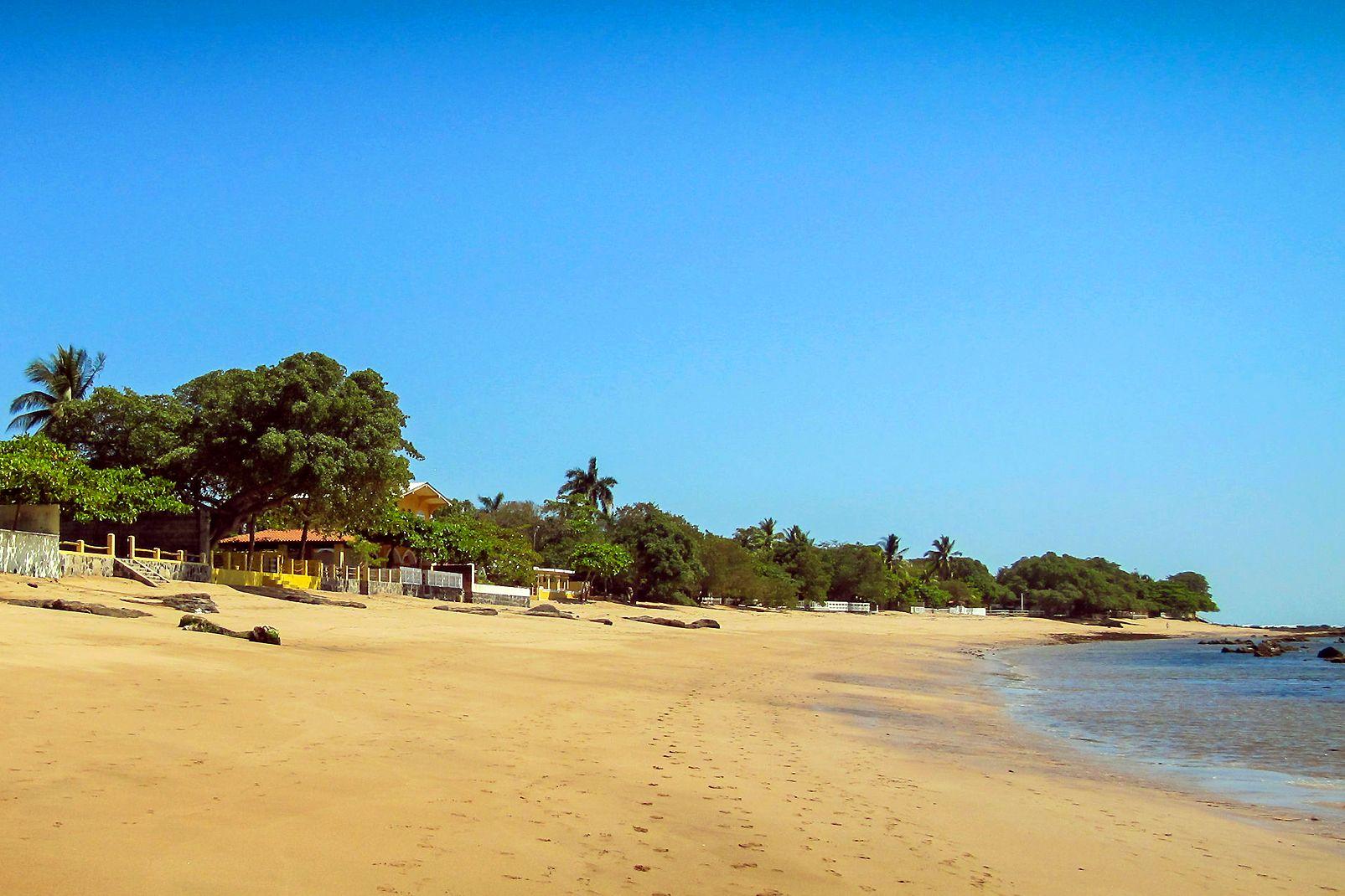 Amerique, sud, Salvador, pacifique, plage