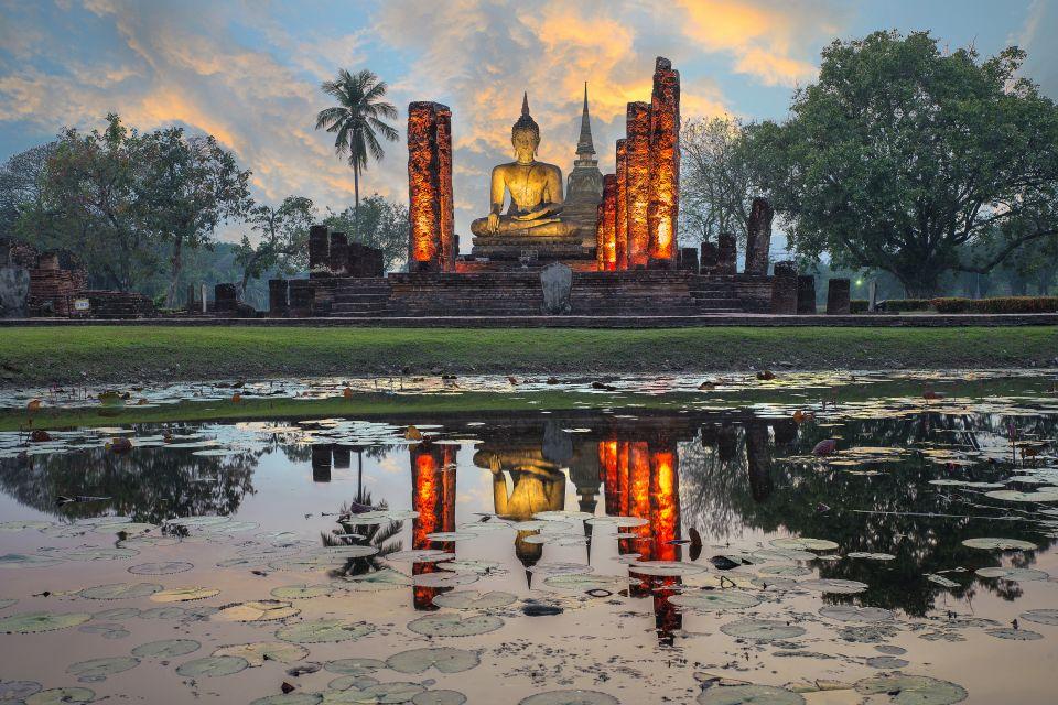 Thaïlande, asie, temple, divinité, Bouddha, Wat Mahathat, parc, mahathat, Sukhothai, statue, sculpture