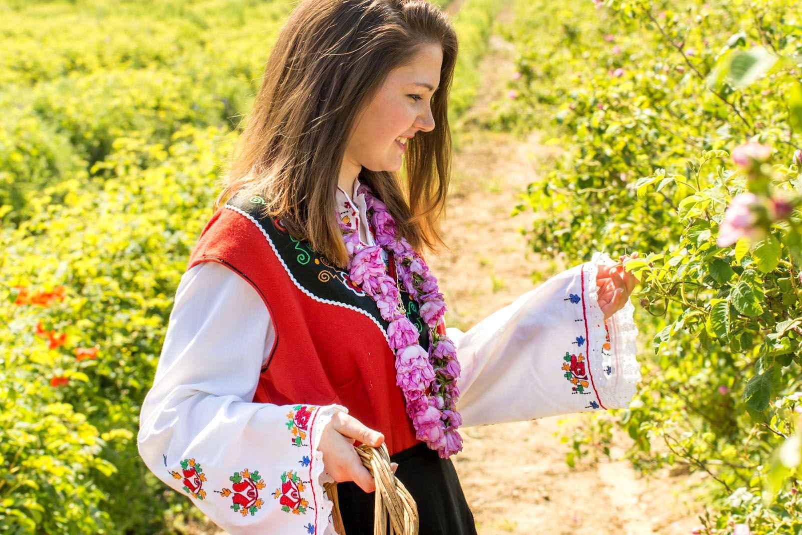 Bulgarie, Pendant le Festival Annuel de la Rose à Kazanlak