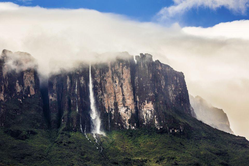 Vénézuela, amérique, latine, sud, salto angel, saut de l'ange, cascade, chute, kukenan, Canaima, parc