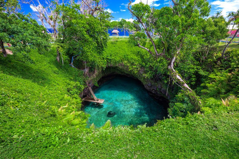 Samoa, Piscine naturelle, île d'Upolu