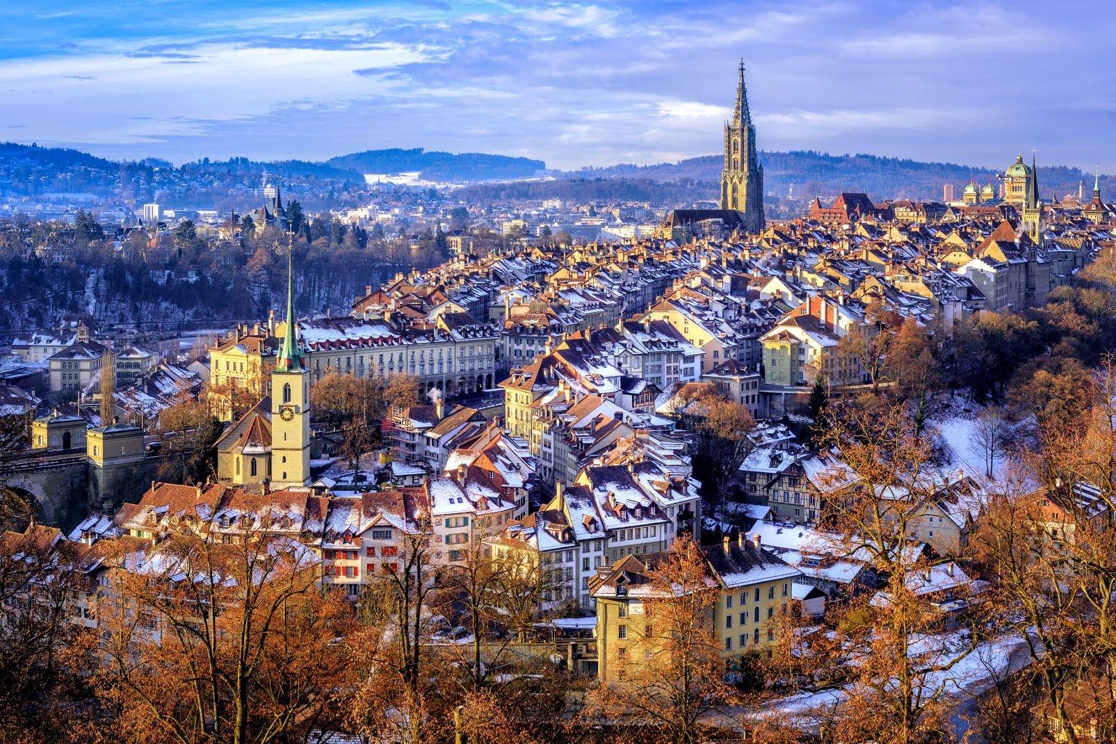 berne, capitale, suisse, europe, alpes, rivière, aar