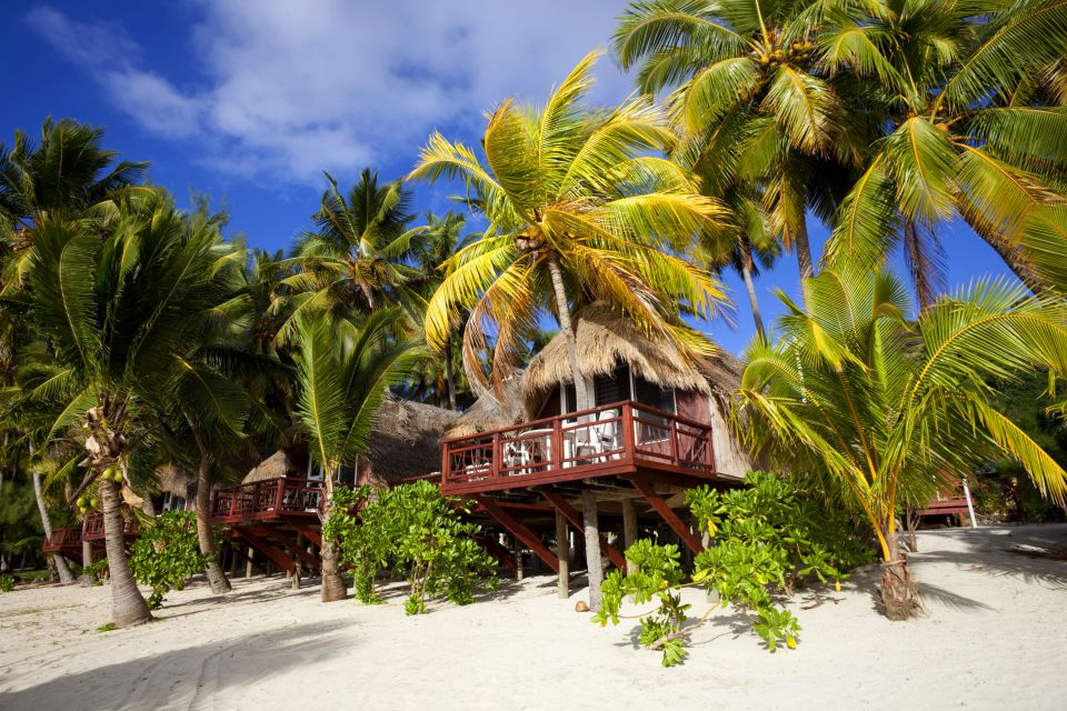 Iles Cook, Plage tropicale de l'île Aitutaki