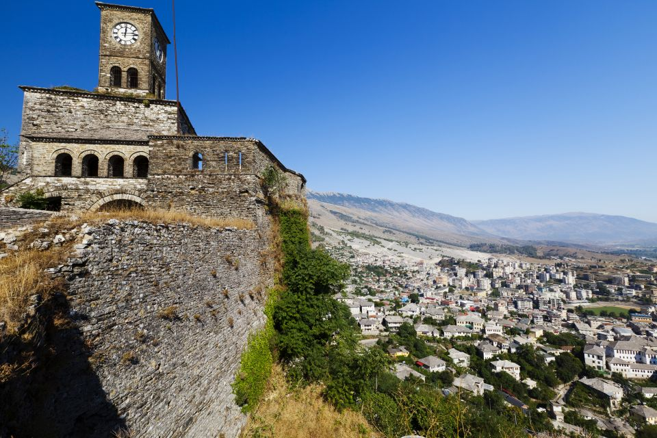 Albanie, Europe, forteresse, Gjirokastra