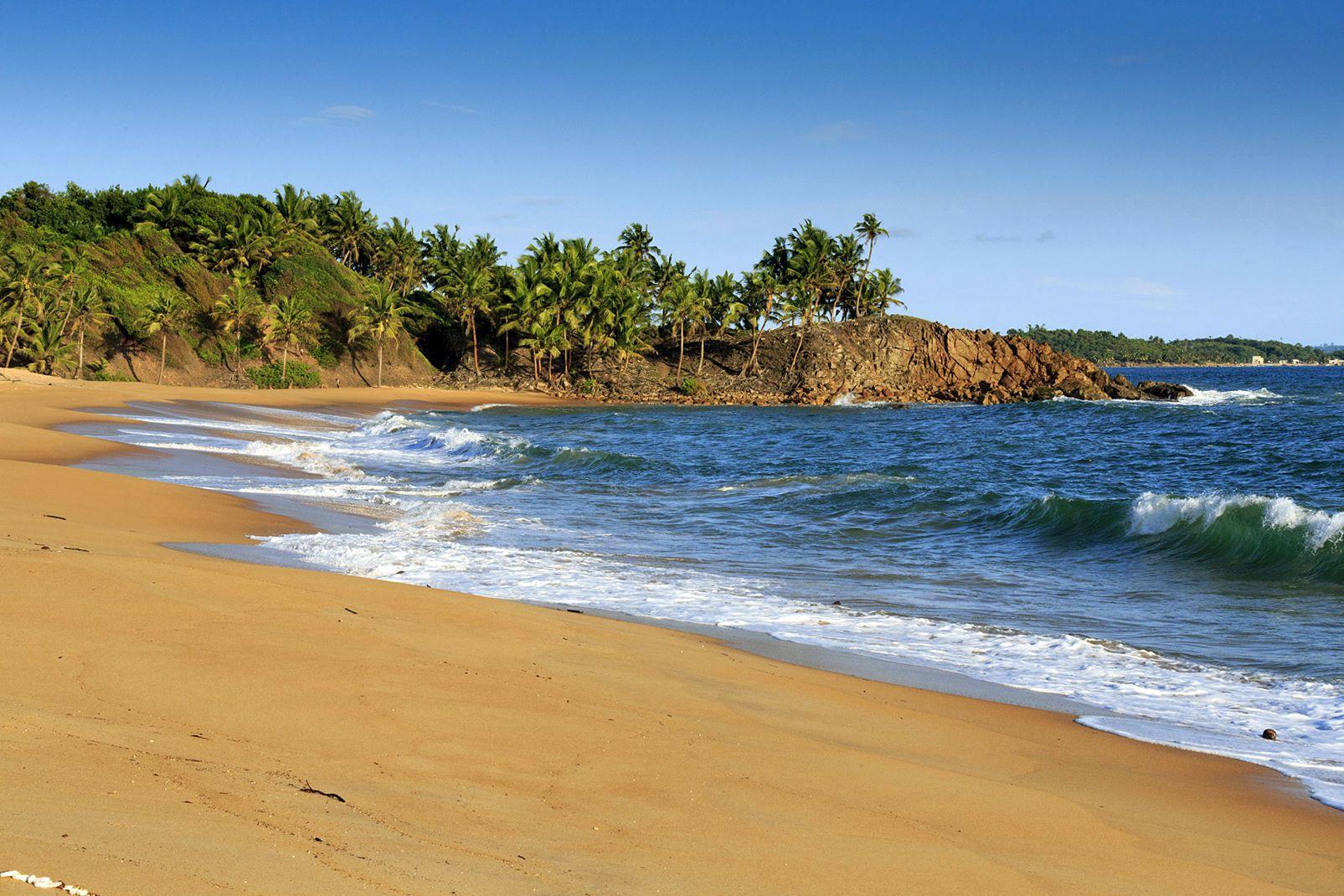 Afrique, ghana, plage, mer, axim
