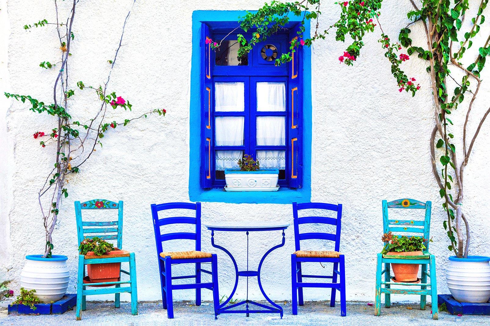Grèce, Beau paysage de Crète