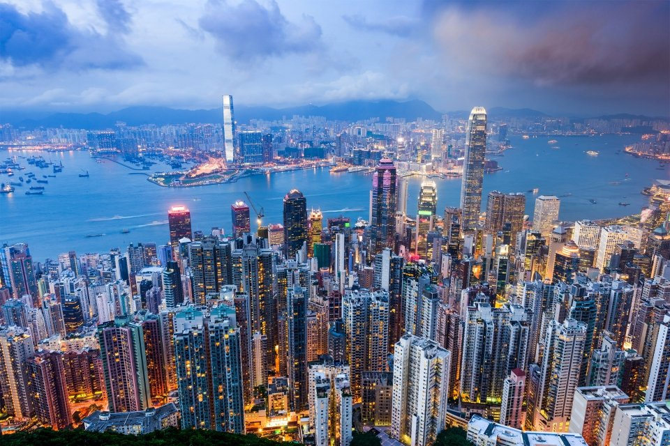 Hong Kong, Hong Kong, continental et insulaire