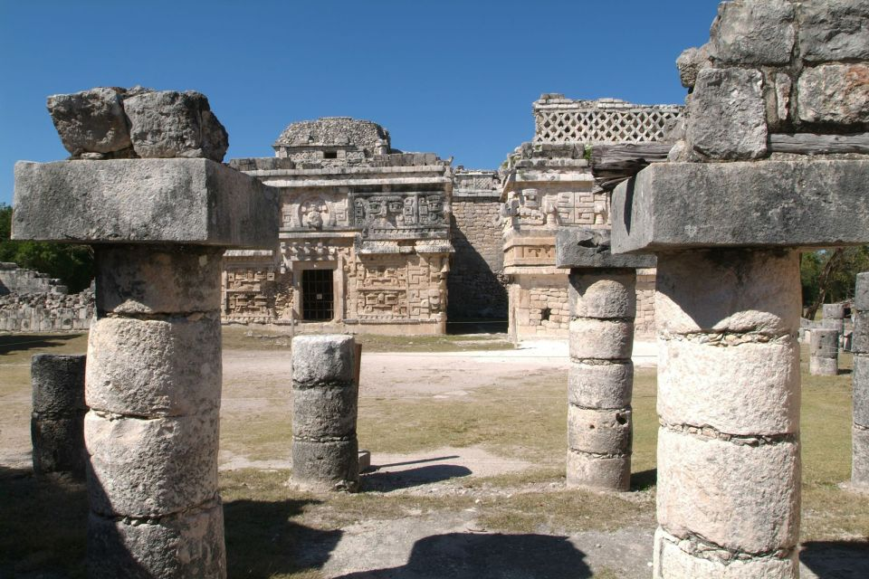 amerique, mexique, yucatan, site, archéologique, chichen, itza, ruine, monument