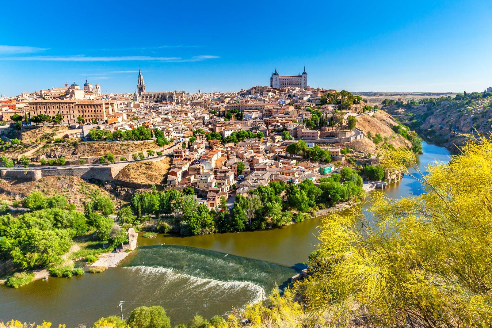 Kastilien la Mancha, Spanien