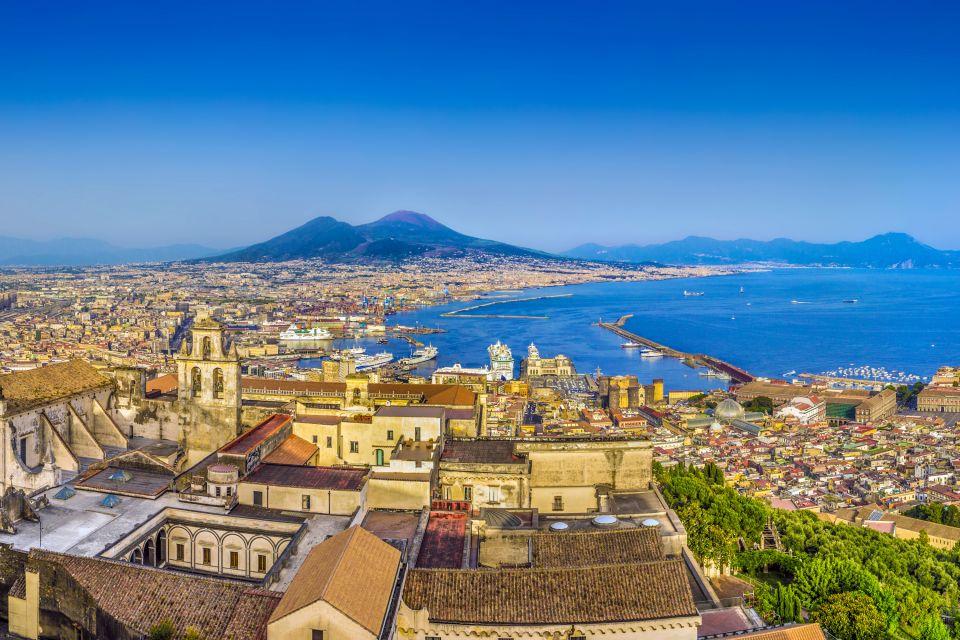 Campanie, Italie, Europe, baie, mer, méditerranée, volcan, vésuve