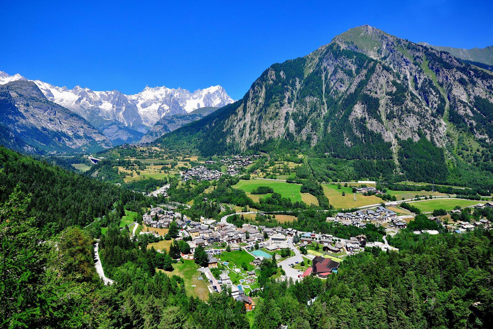 Das Aoste-Tal, Italien
