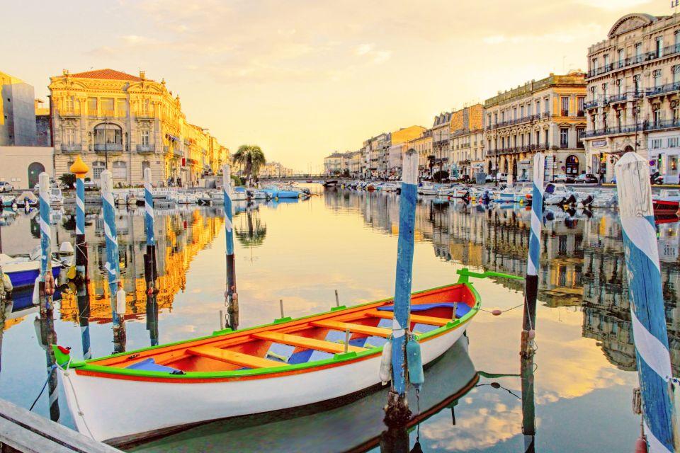 France, Languedoc-Rousillon, Sète, canal du midi, canal