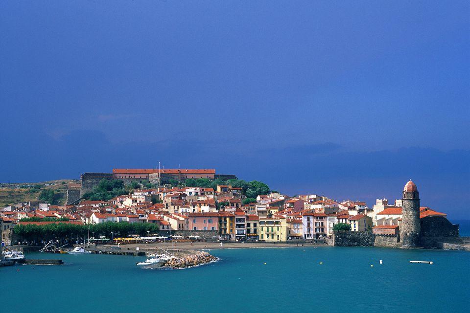 France, Languedoc-Rousillon, collioure, mer, méditerranée