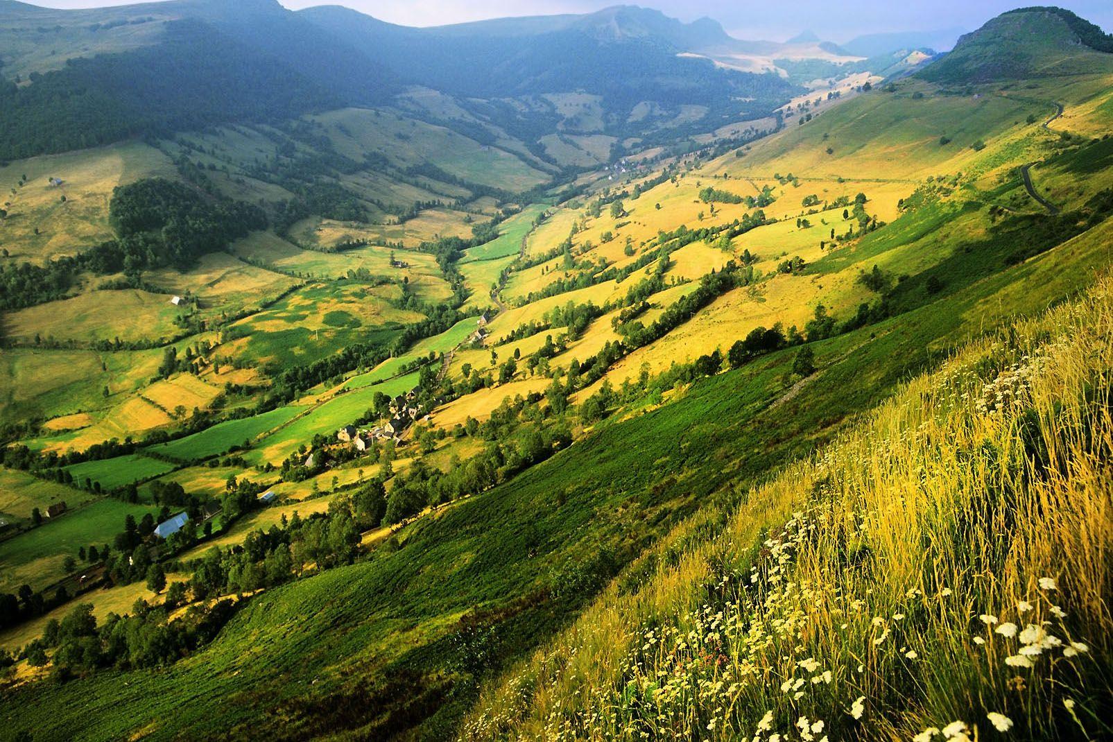 Auvergne, Frankreich