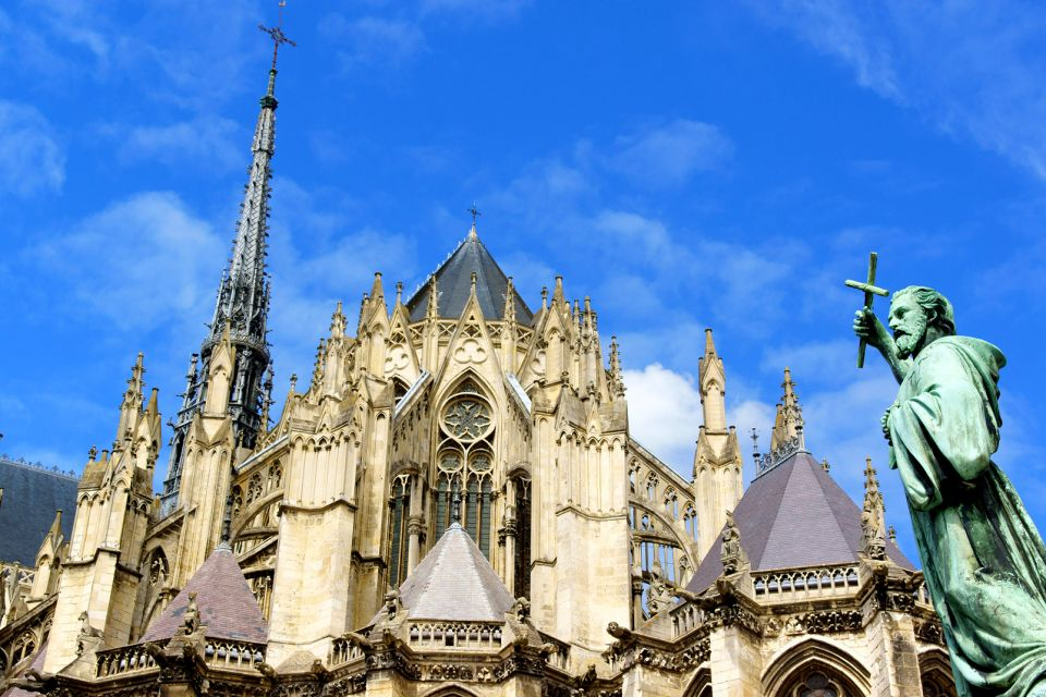 cathedrale, amiens, notre-dame, picardie, france, europe