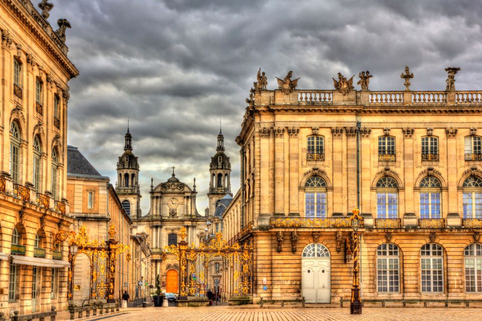 cathedrale, nancy, place, stanislas, lorraine, france, europe