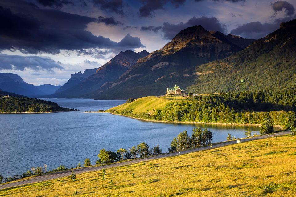 Alberta, canada, amérique, amérique du nord, waterton, lac, hotel, prince de galles