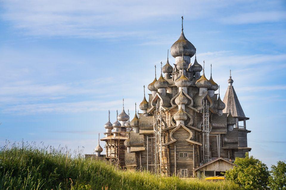 église, Transfiguration, volga, russie, europe, île, kiji