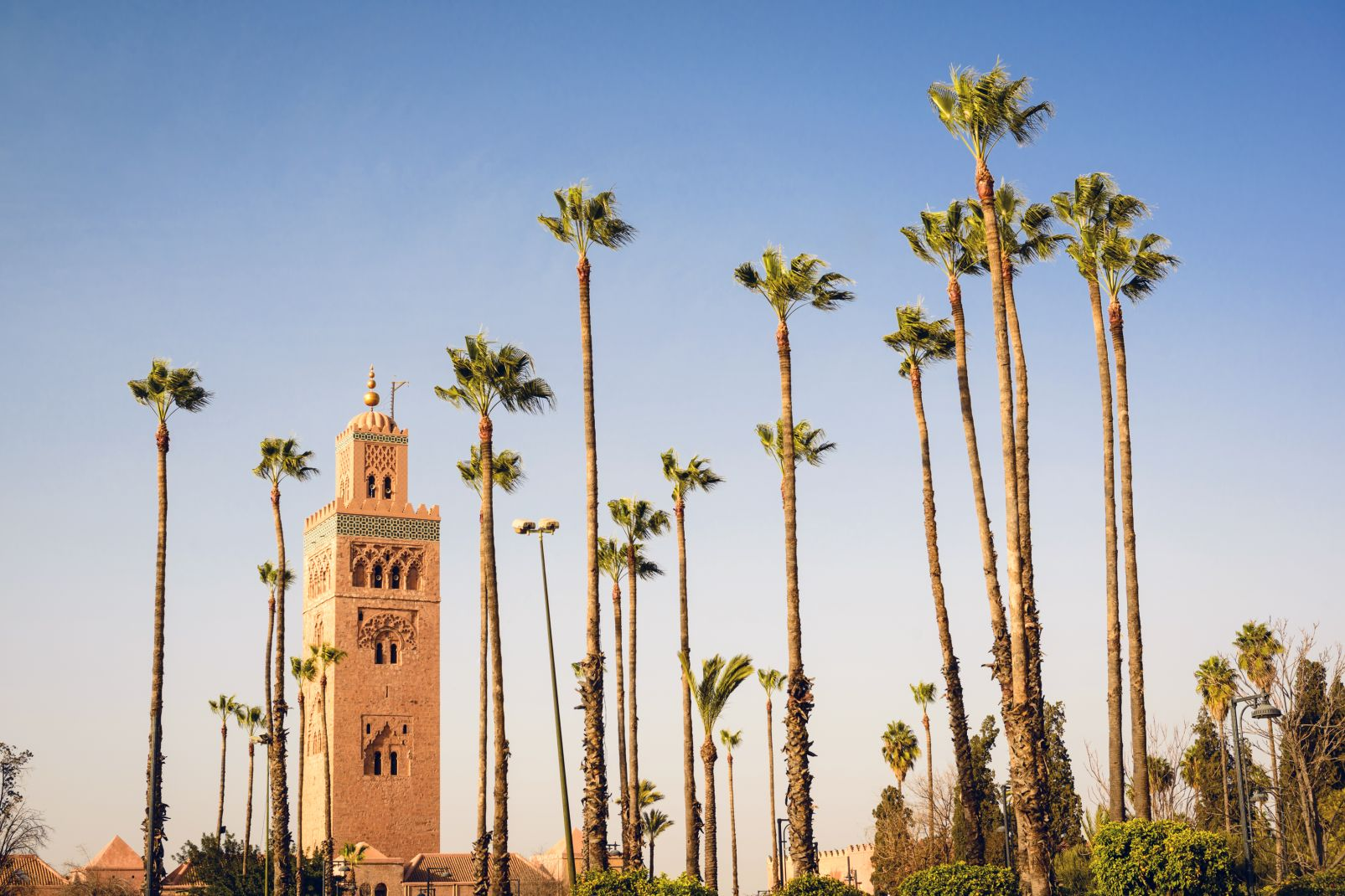 Maroc, Afrique, Maghreb, marrakech, ville, remparts, Koutoubia