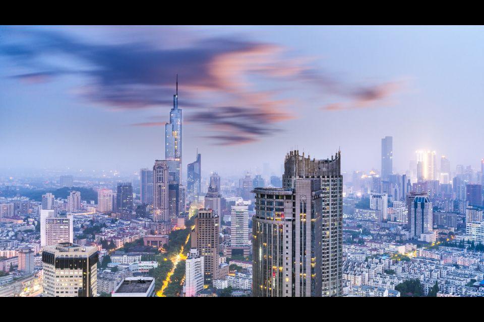 Shanghai y el Sur, China