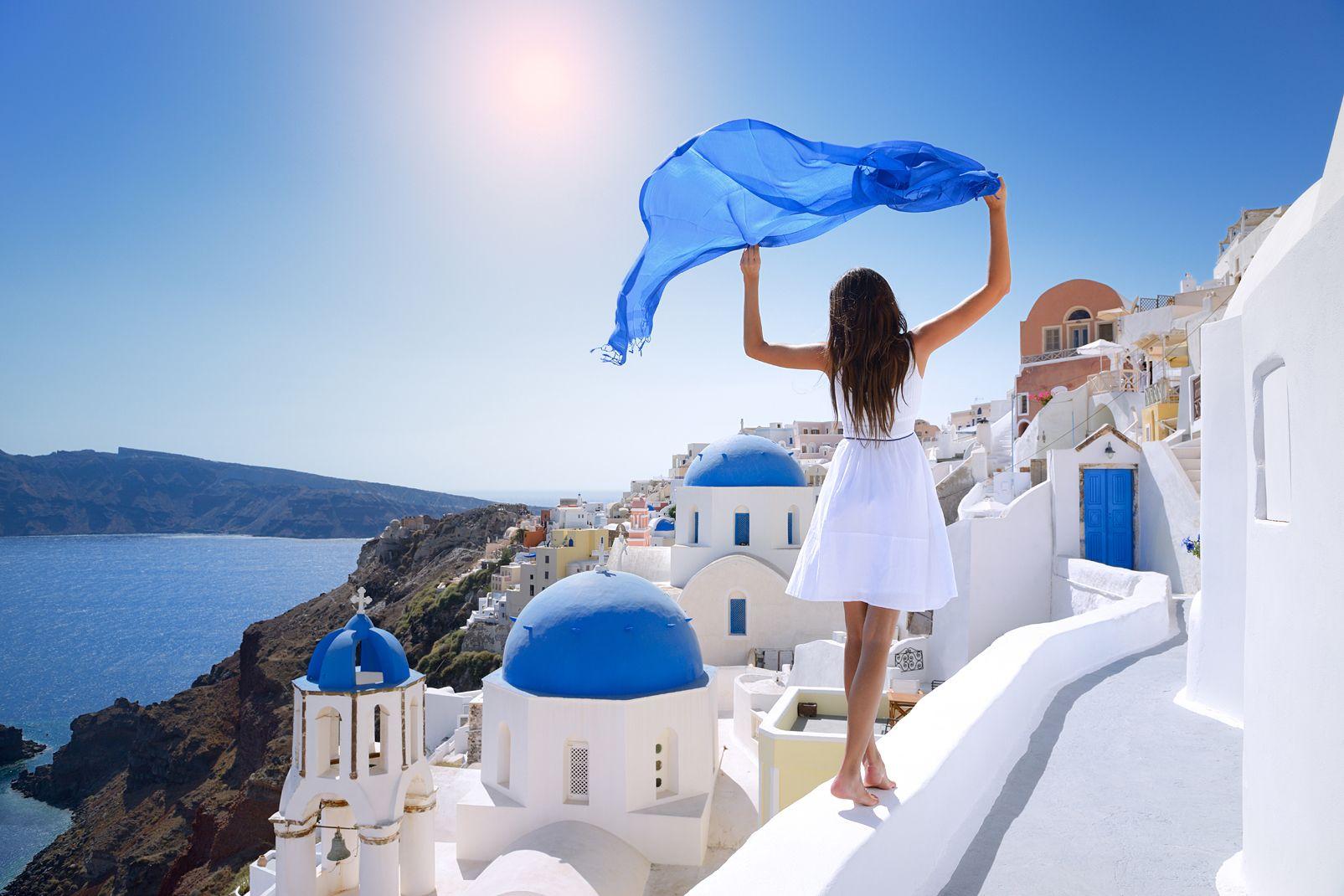 europe, grèce, cyclades, archipel, mer, égée, santorin, oia