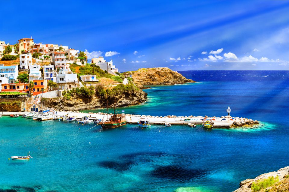 crète, grèce, europe, rethymnon, mer, égée, méditerranée, bali, plage, port