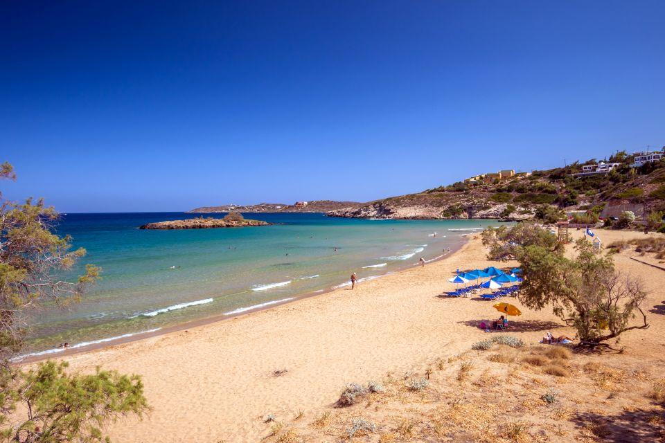 crète, grèce, europe, kathalas, mer, égée, méditerranée, plage