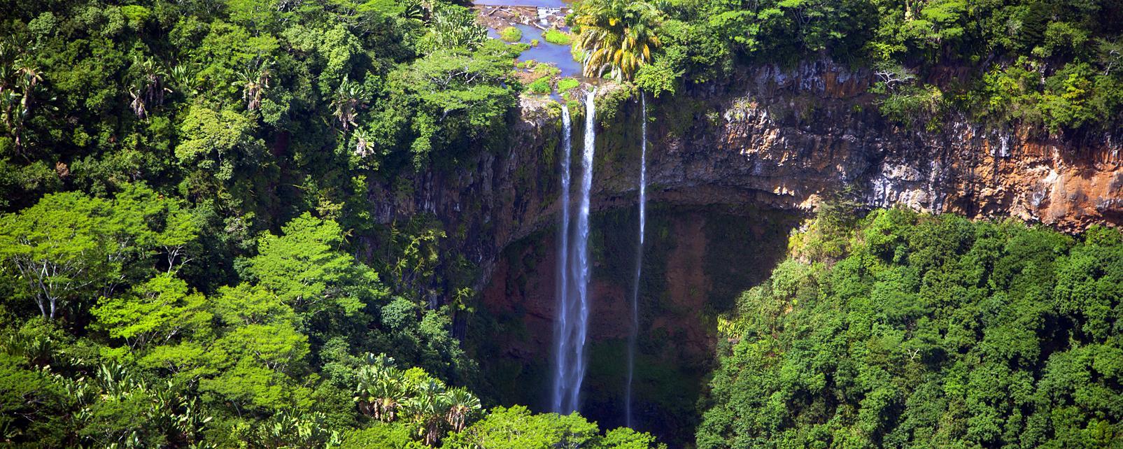 Océan Indien, Ile Maurice, Chamarel, cascade, nature,