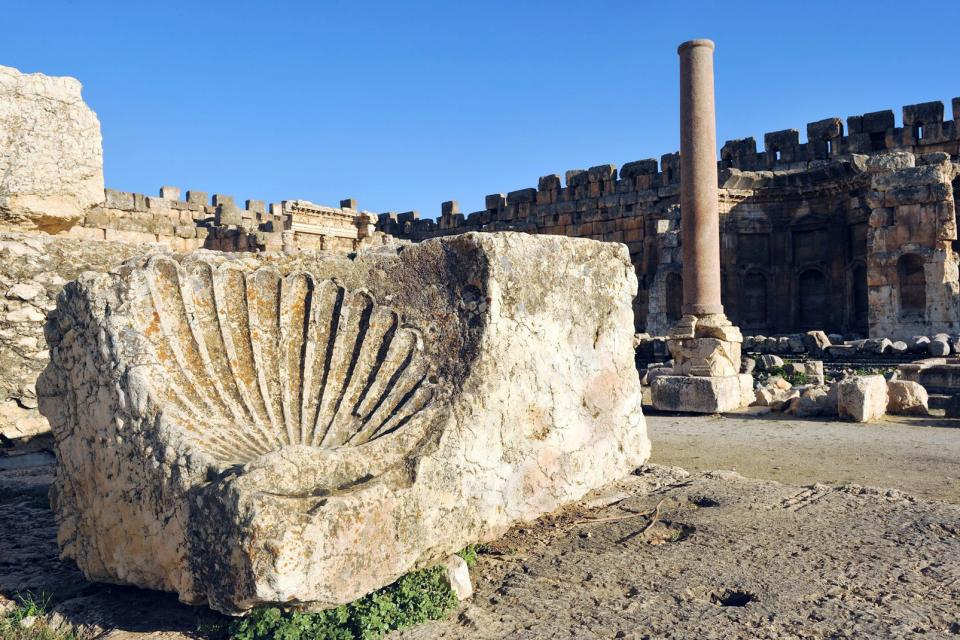 Moyen-Orient, Liban, Baaleck, ruine,