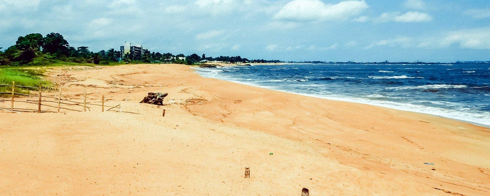 Afrique, Liberia, montagne, arbre, arc en ciel,