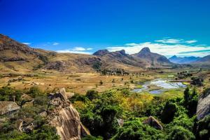 Afrique, Océan Indien, Madagascar, montagne, rizière, rocher, plaine, arbre, verdure,