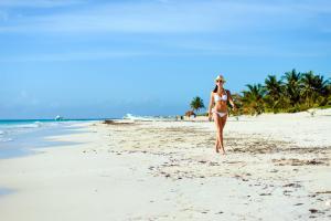 Amérique, Amérique du Nord, Mexique, Basse Californie, Riviera Maya, Plage, Playa Paraiso, détente