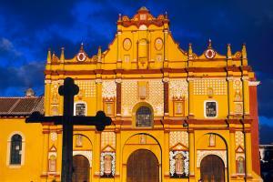 Amérique, Amérique du Nord, Mexique, Mexique continental, Mexique, San Cristobal de las Casas, San Cristobal, cathédrale,
