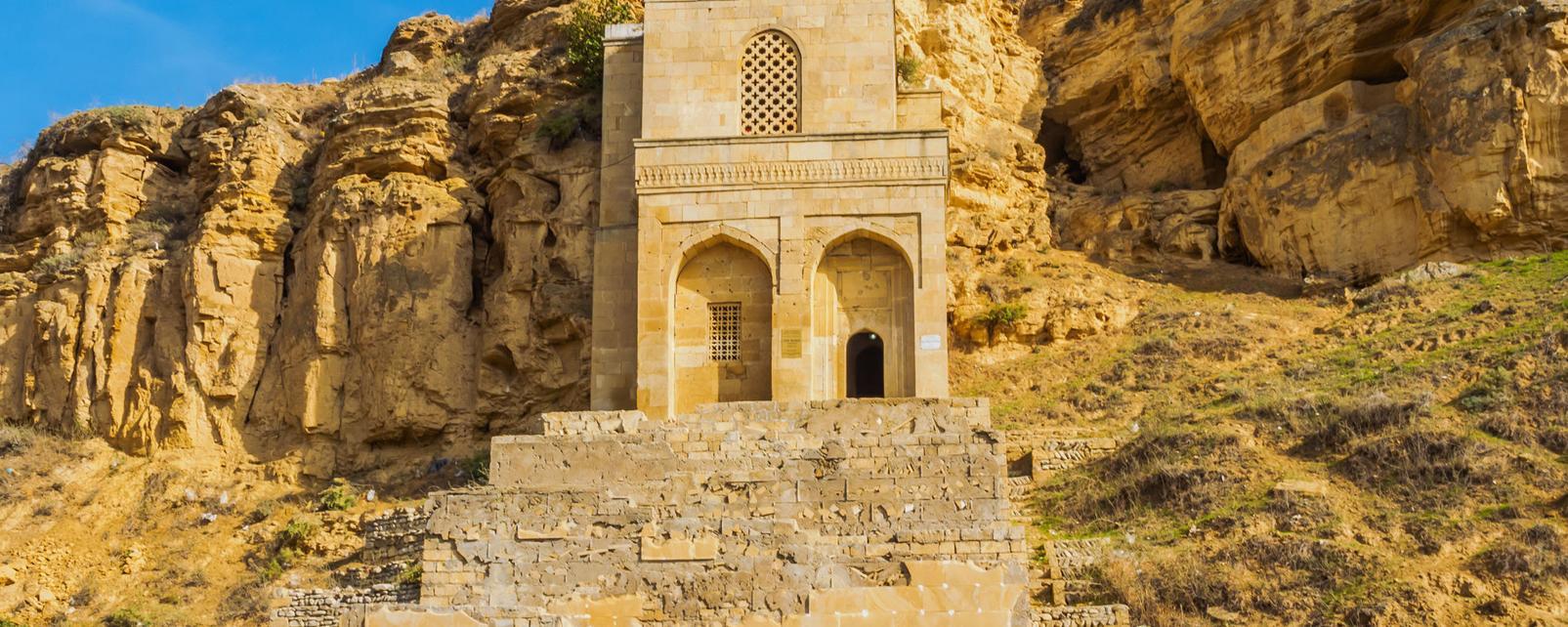 Asie, Azerbaïdjan, Gobustan Rayon, mausolée, Diri Baba Maraza, religion,