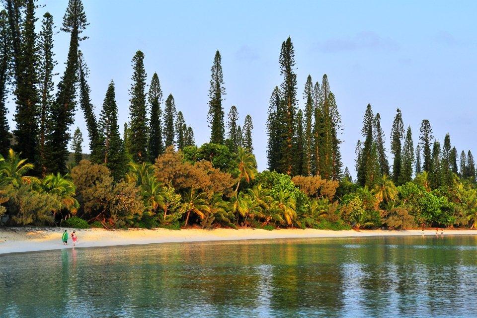 Nouvelle-Calédonie, L' Île des Pins, la baie de Kanuméra
