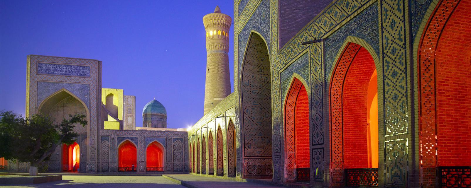 Asie, Ouzbékistan, Boukhara, palais, architecture,