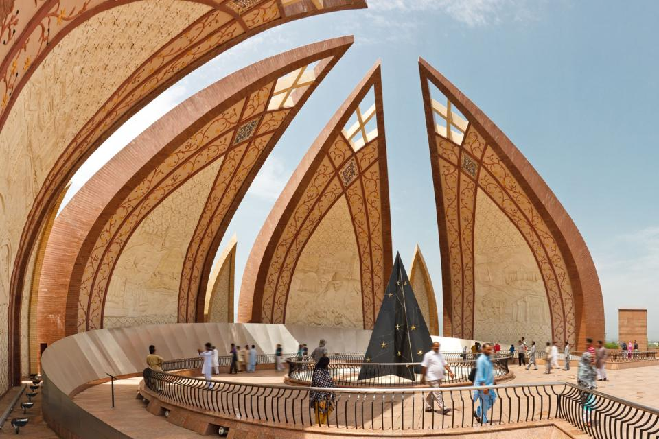 Asie, Pakistan, Islamabad, monument, architecture,