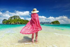 Asie, Thaïlande, Andaman, plage, île, baignade, détente,