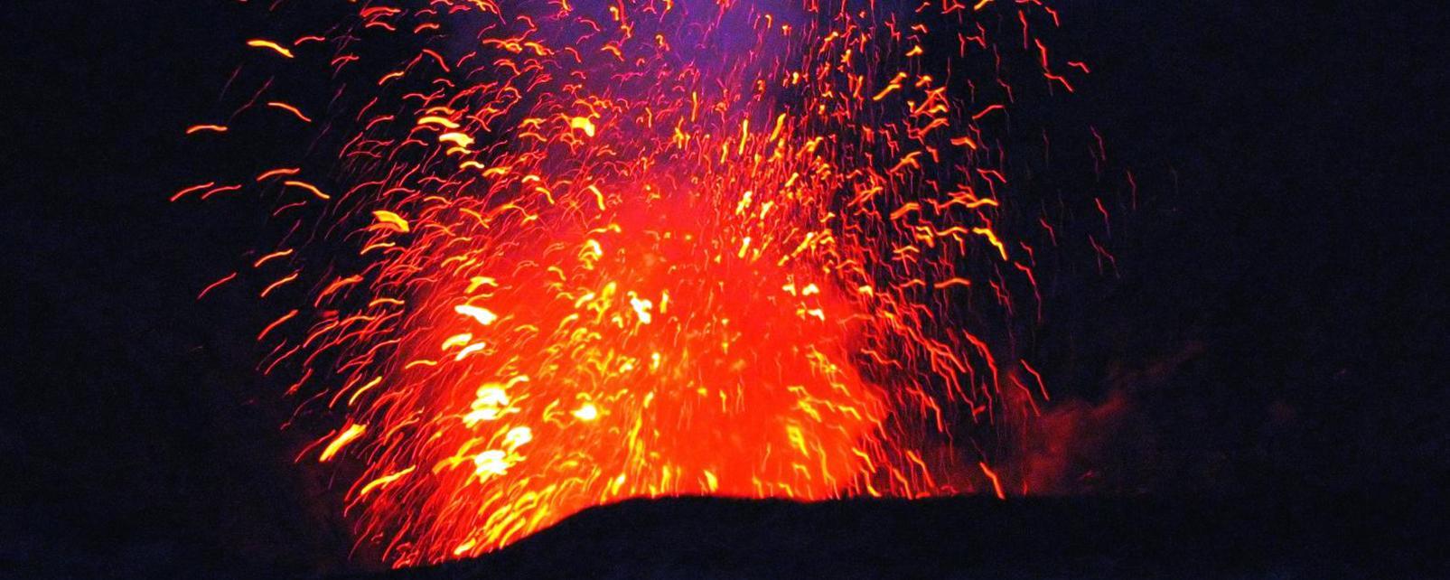 Océanie, Vanuatu, volcan, Yasur,