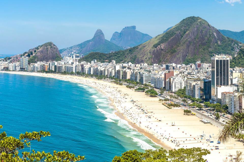 Amérique, Amérique du Sud, Brésil, Rio de Janeiro, Copacabana, plage,