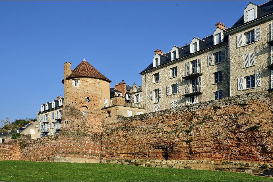 Europe, France, Pays de la Loire, bâtiment, architecture, ville,