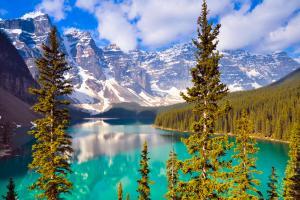 Amérique, Amérique du Nord, Canada, Alberta, canada, amérique, lac, amérique du nord, montagne, neige, lac, forêt, arbre,