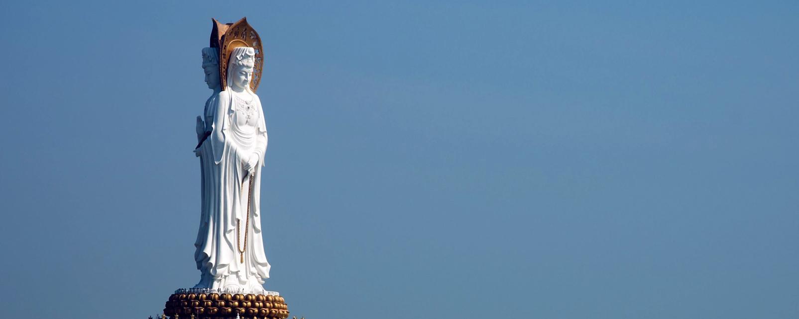 Asie, Chine, Hainan, Guanyin, déesse, miséricorde, religion, mer,