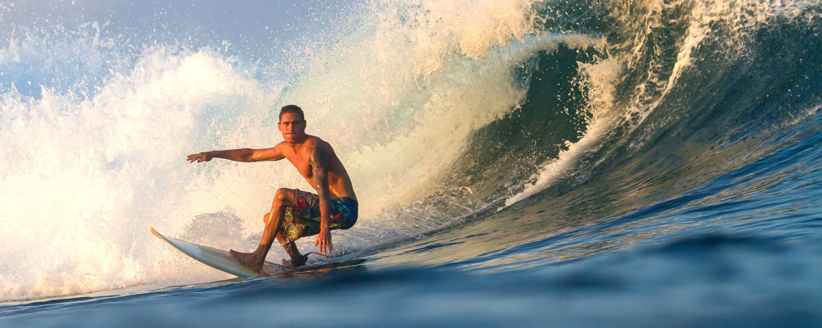 Asie, Indonésie, Sumba, surf, surfeur, planche, vague, océan,