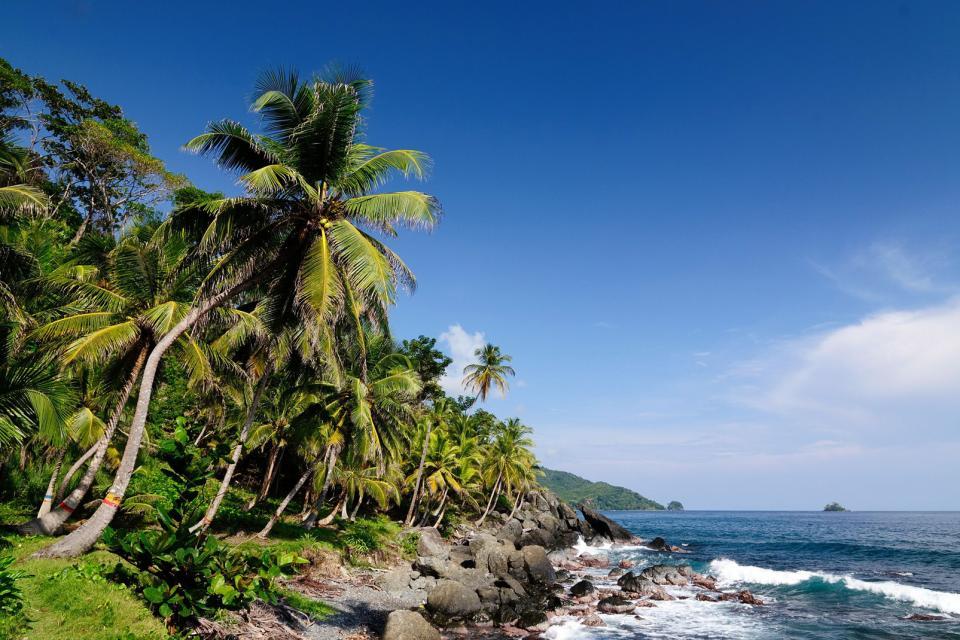 Amérique, Amérique du Sud, Colombie, plage, baignade,