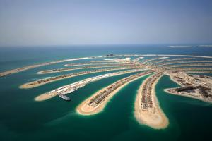 Moyen-Orient, Emirats Arabes Unis, Dubaï, Dubai, Palm Islands, mer,