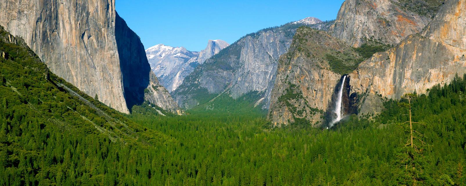 Amérique, Amérique du Nord, Californie, etats-unis, USA, amérique, amérique du nord, yosemite, parc national, montagne, cascade, forêt, arbre, ciel,