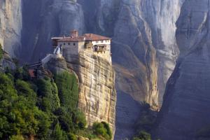 Europe, Grèce, Grèce continentale, Kalambaka, monastère, Météores, religion, montagne,